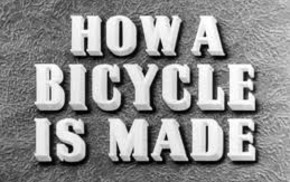 How a bicycle is made - 1945 British Council Film